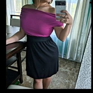 Dresses & Skirts - Aurora Multiway Purple & Black Dress